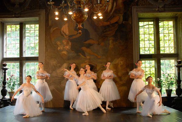 Ballett Gruppe