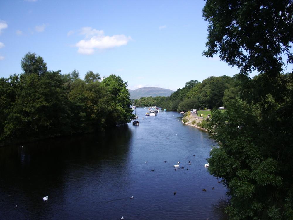 Balloch / Loch Lomond / Schottland