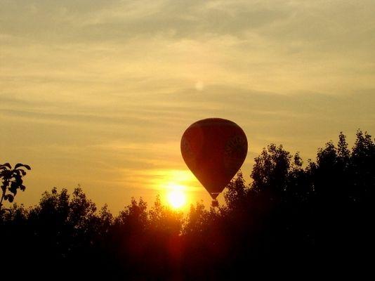 Ballon Fahrt