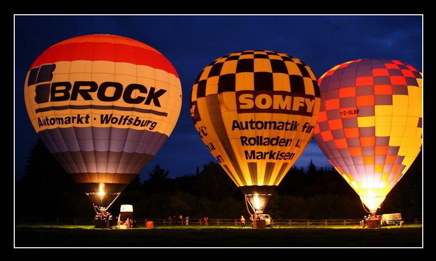 Ballon glühen !!!