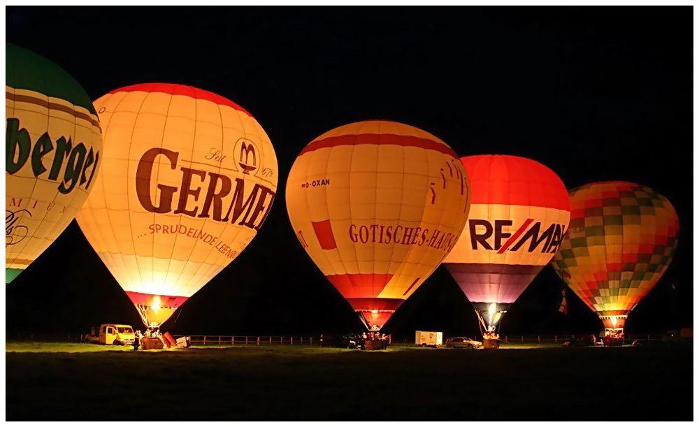 Ballon glühen am 01.09.2007