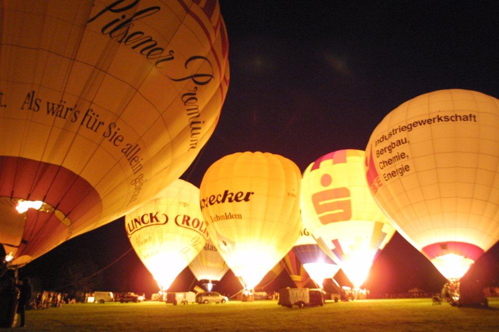 ballon glühen