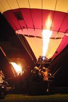 ballon glühen bei der mongolfiade in münster