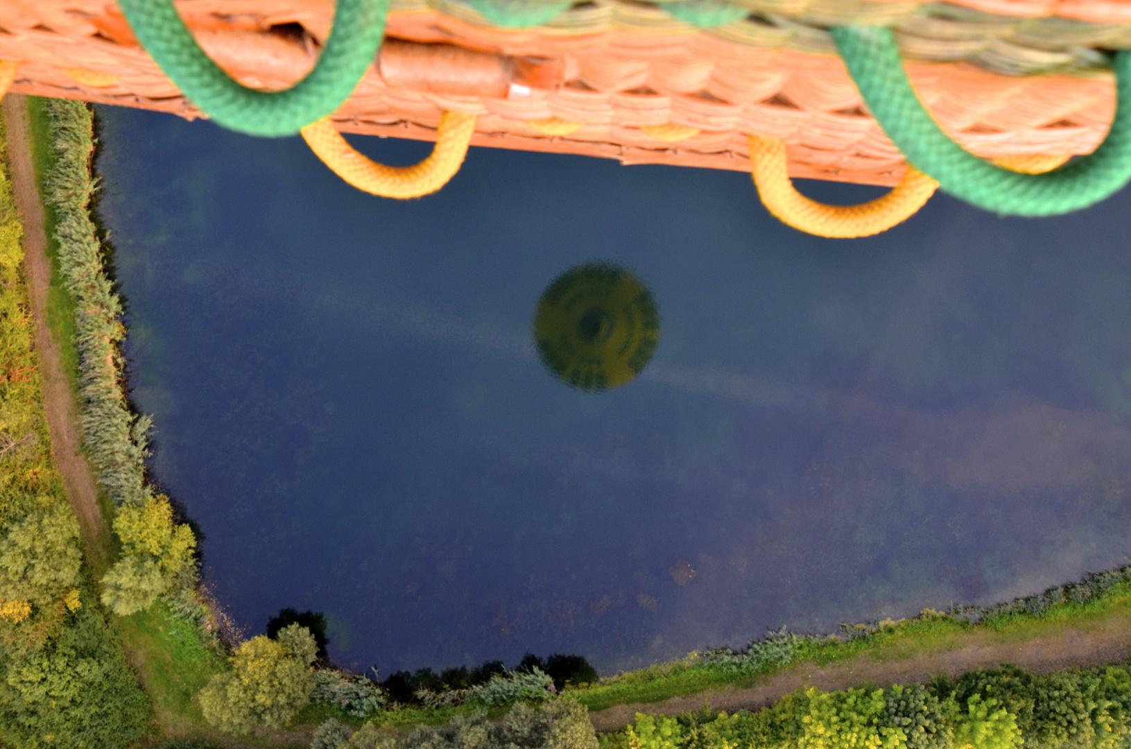 Ballon im See