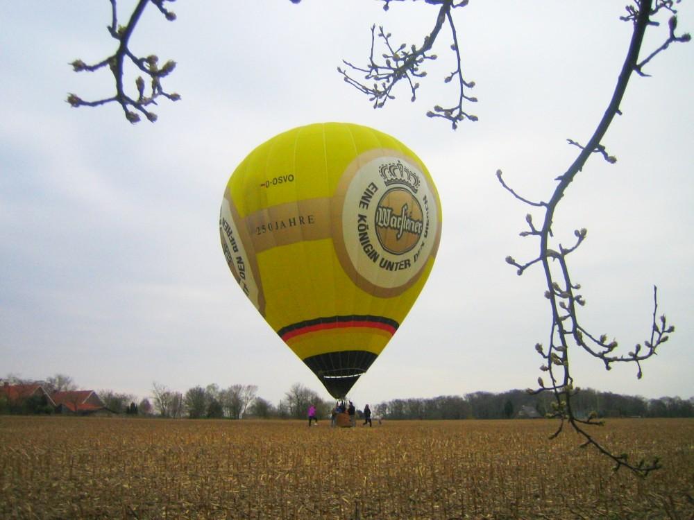 Ballon - Landung