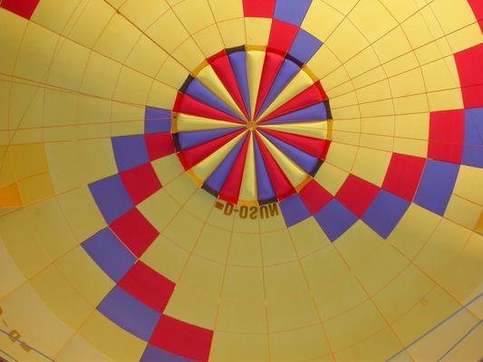Ballon von innen