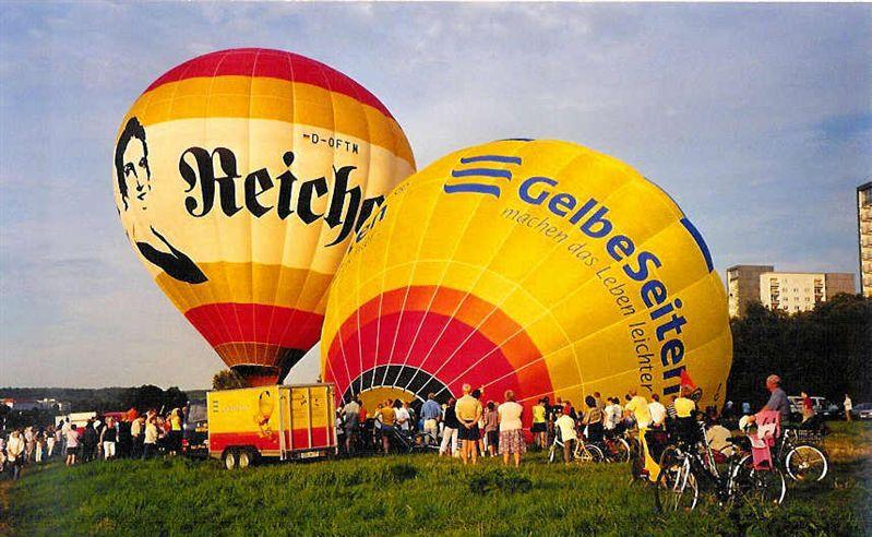 Ballonfahren in Dresden