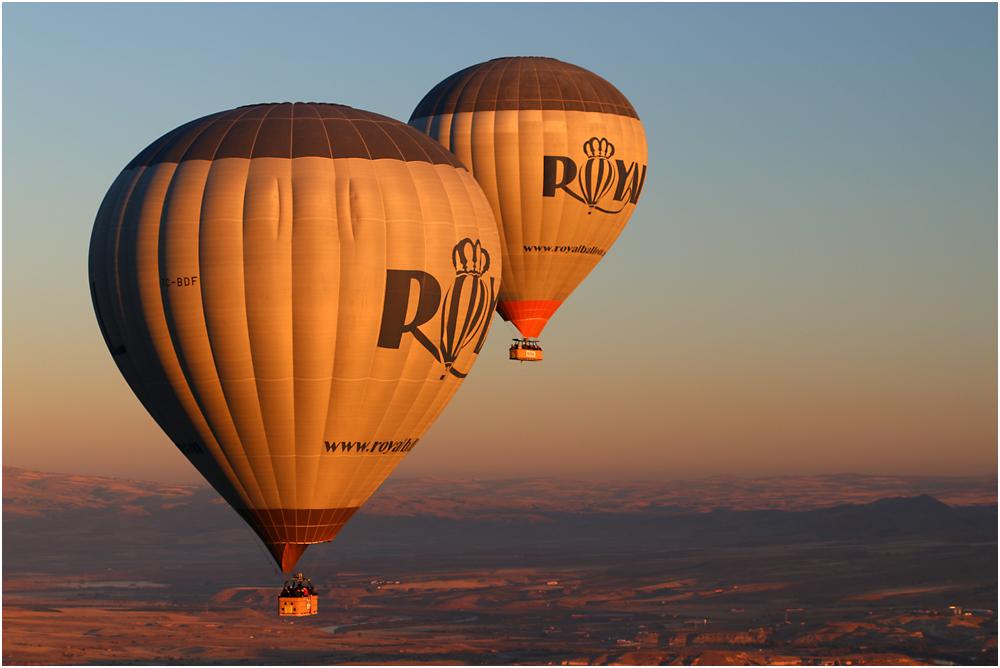 Ballonfahren über Kappadokien