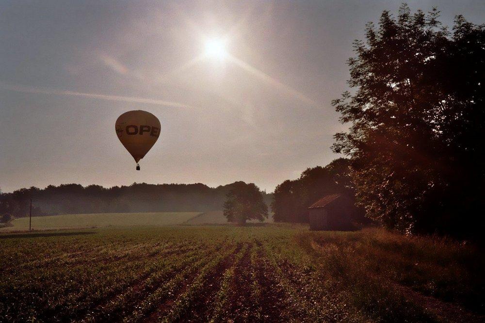 Ballonfahrt am Morgen .... o