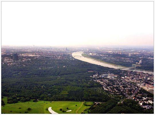 Ballonfahrt bei Köln
