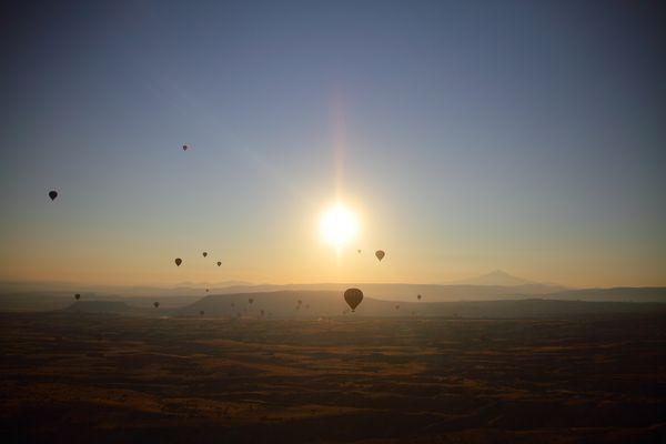 Ballonfahrt in Kapadokien 2