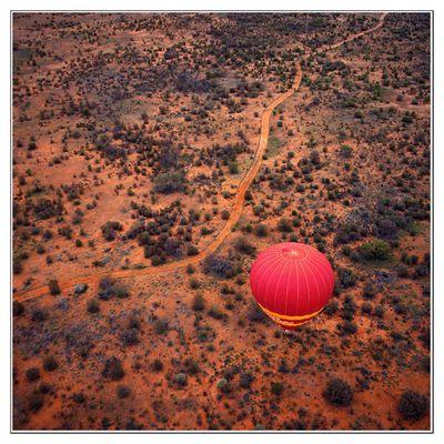 Ballonfahrt Outback