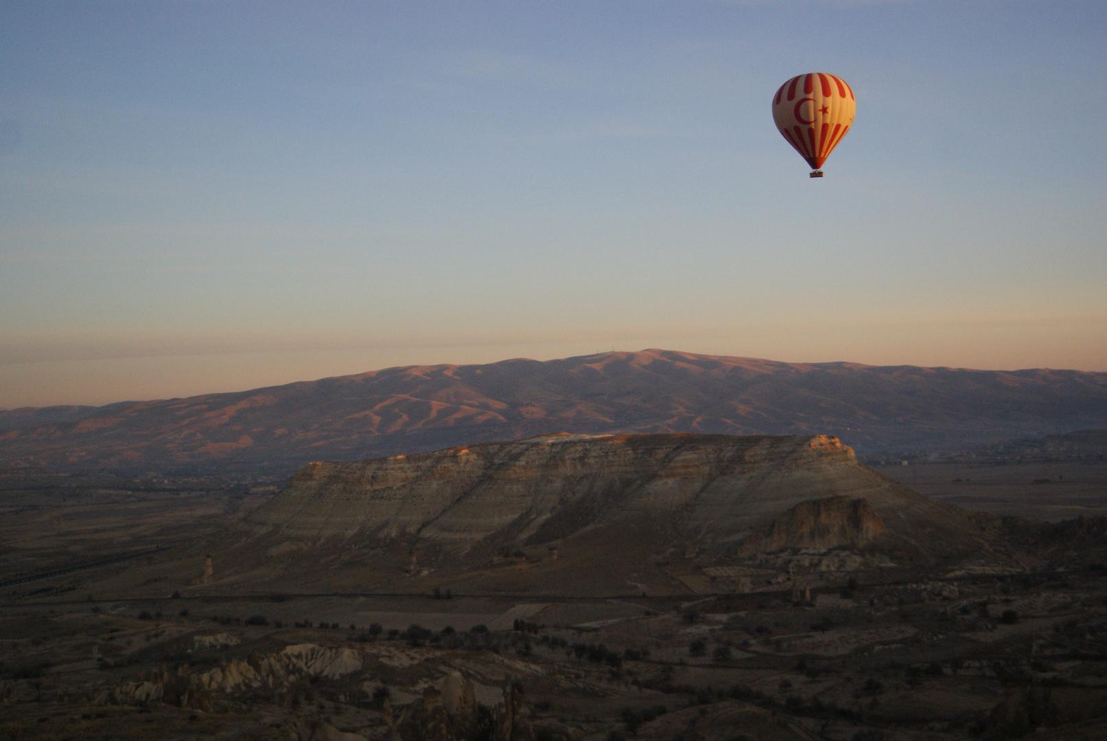 Ballonfahrt über Kappadokien