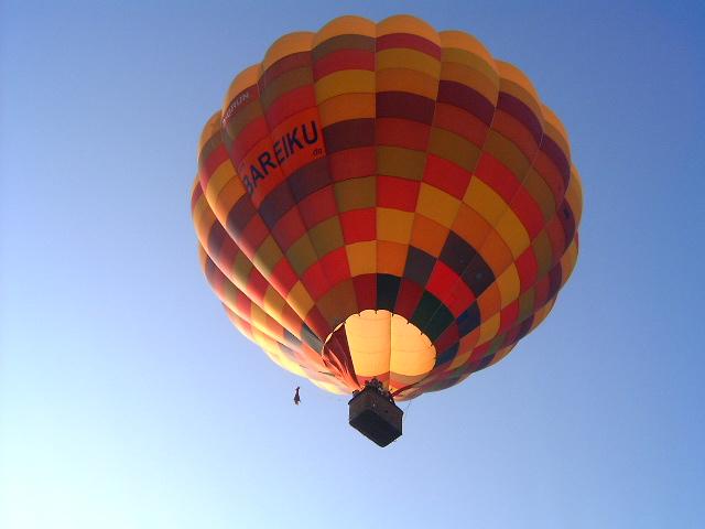 Ballonflug 1