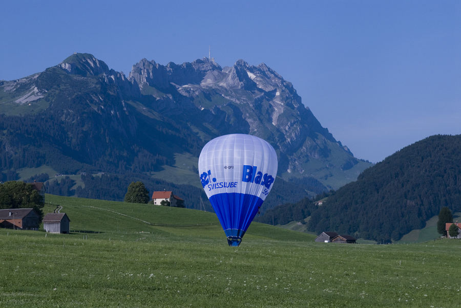 Ballonflugtag in Appenzell
