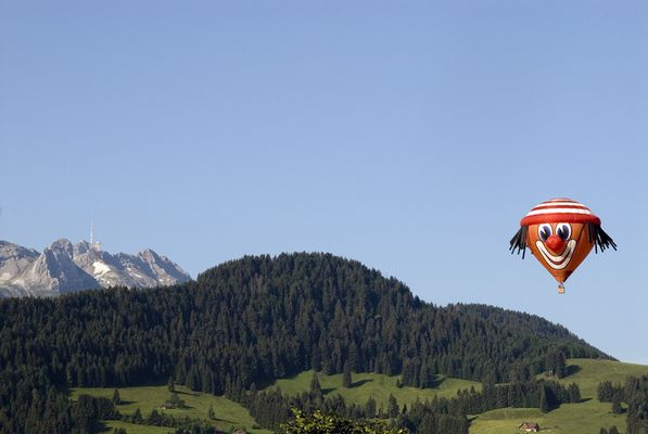 Ballonflutag in Appenzell