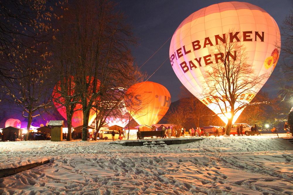 Ballonglühen Tegernsee 2013