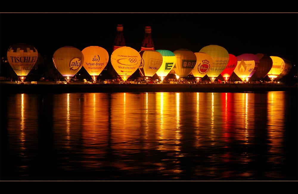 Ballonkette mit Öhrchen