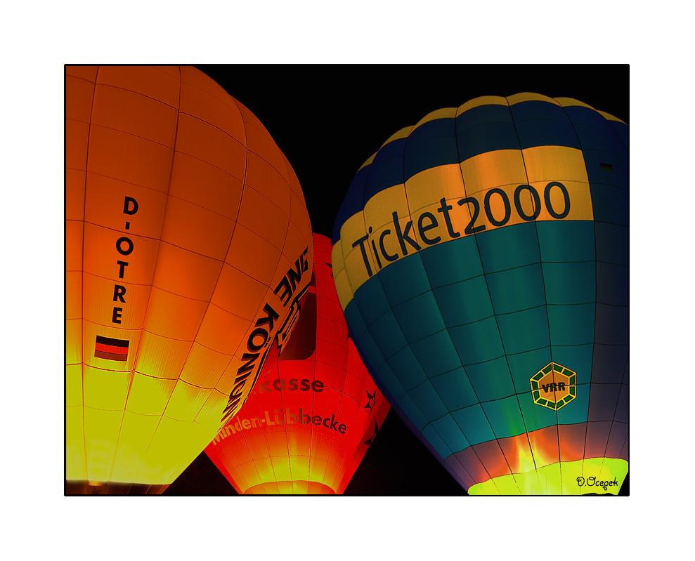 Ballonleuchten 2007 in Moers