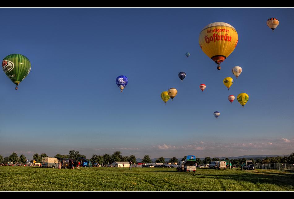Ballonstarts Scharnhauser Park 3
