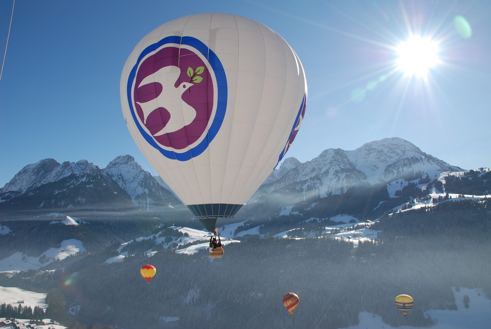 Ballonwoche in Chatéau-d Oex / Schweiz 2009