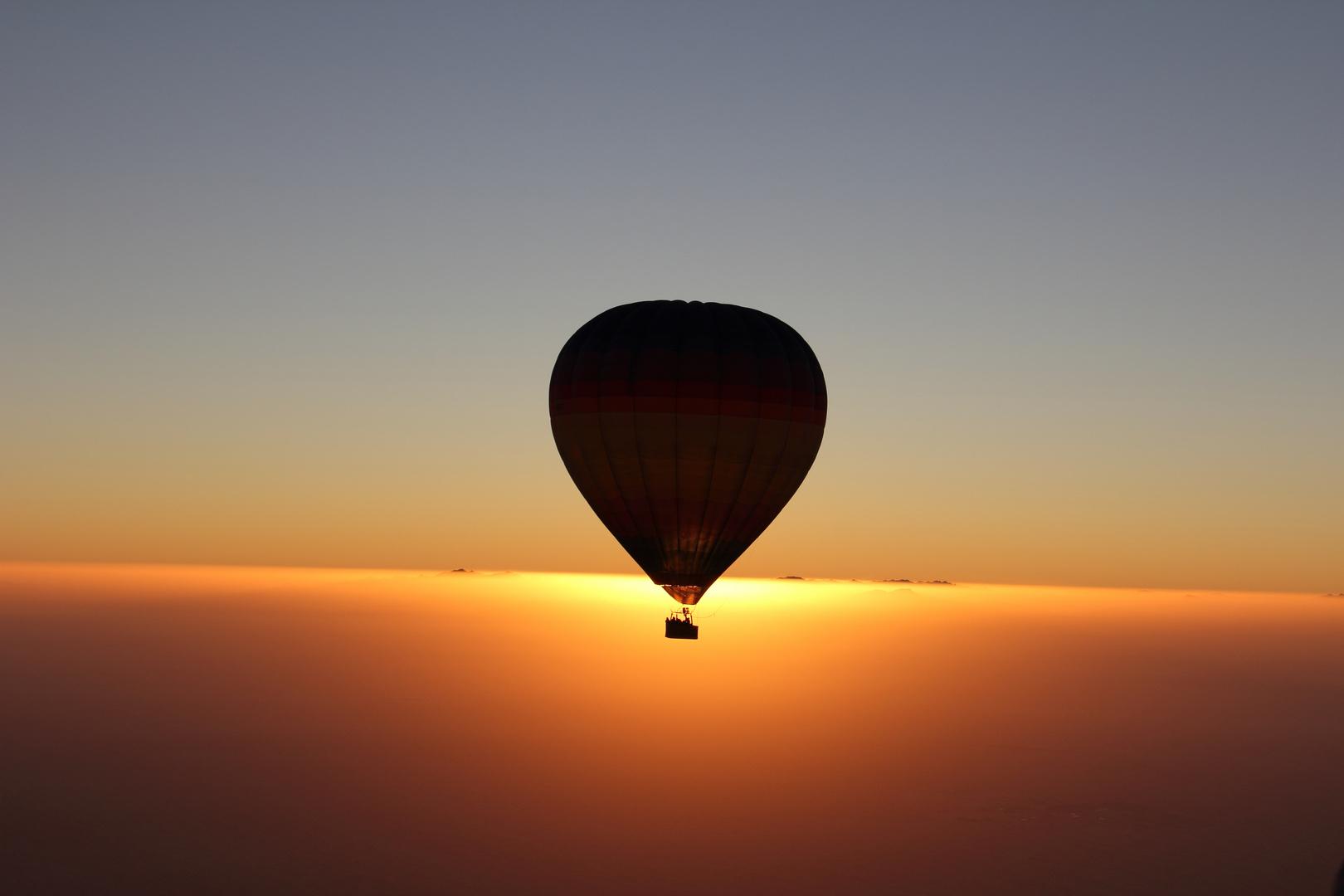 Ballooning in Dubai