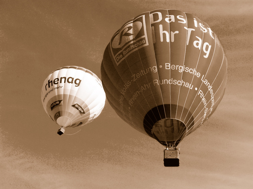 Ballooning in Sepia