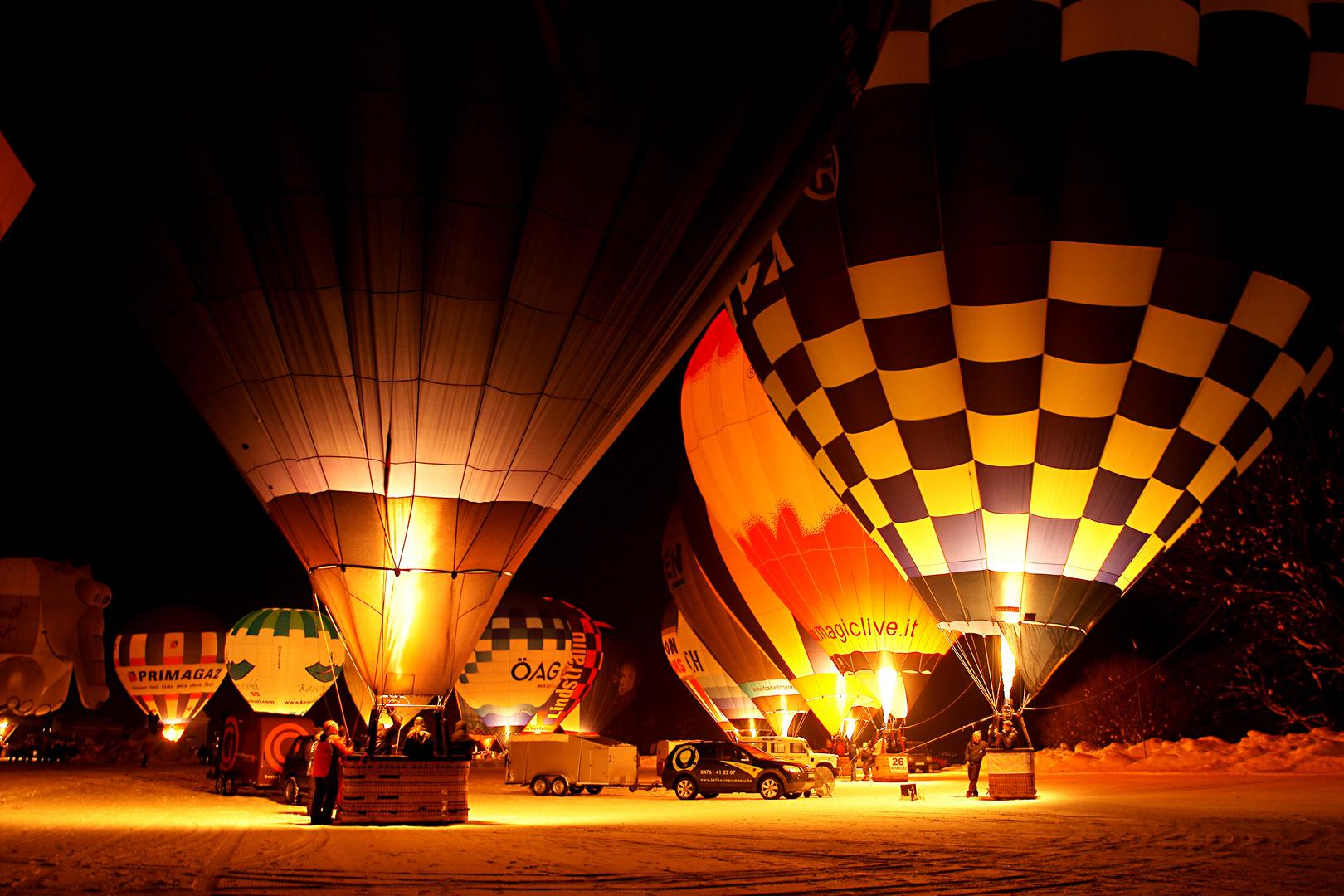 Ballooning / Walchsee 2011