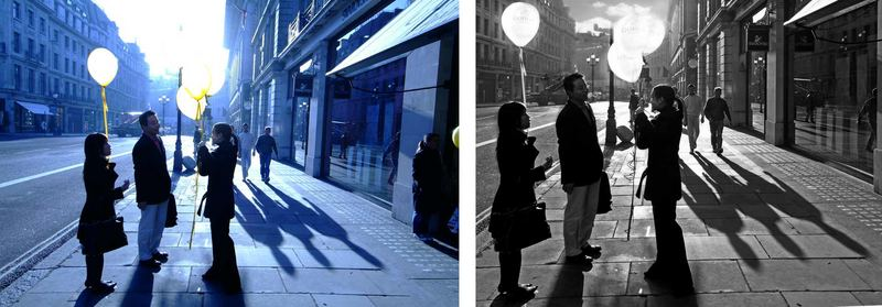 Balloons and shadows times deux!?