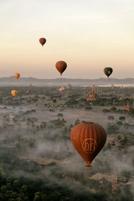 Balloons at Bagan
