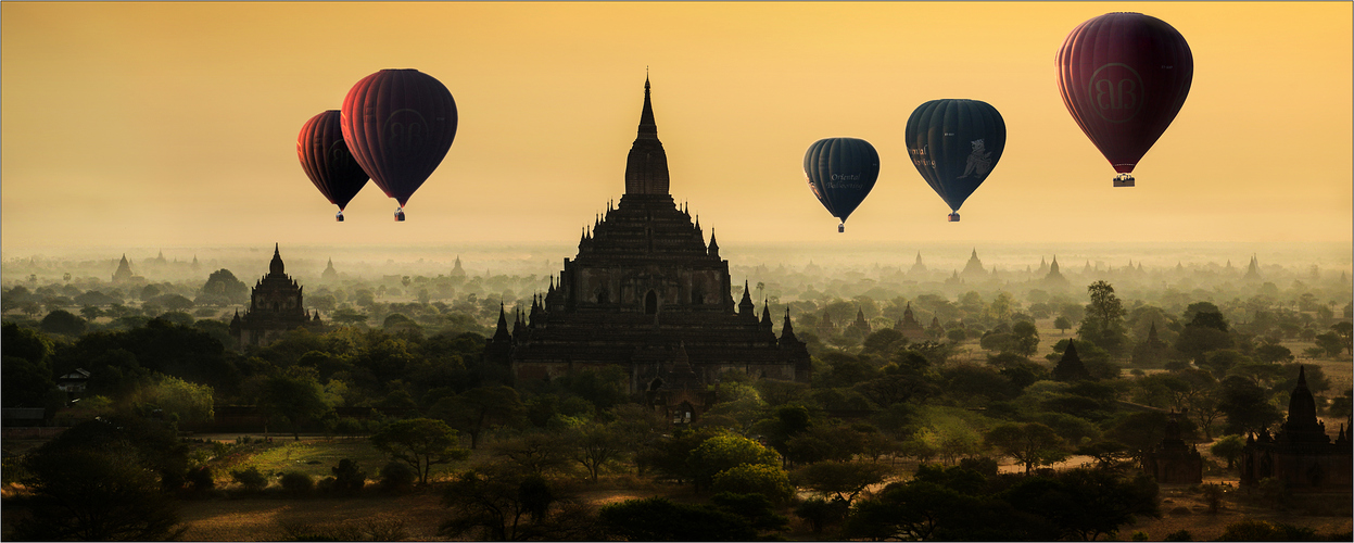 Balloons over Bagan V