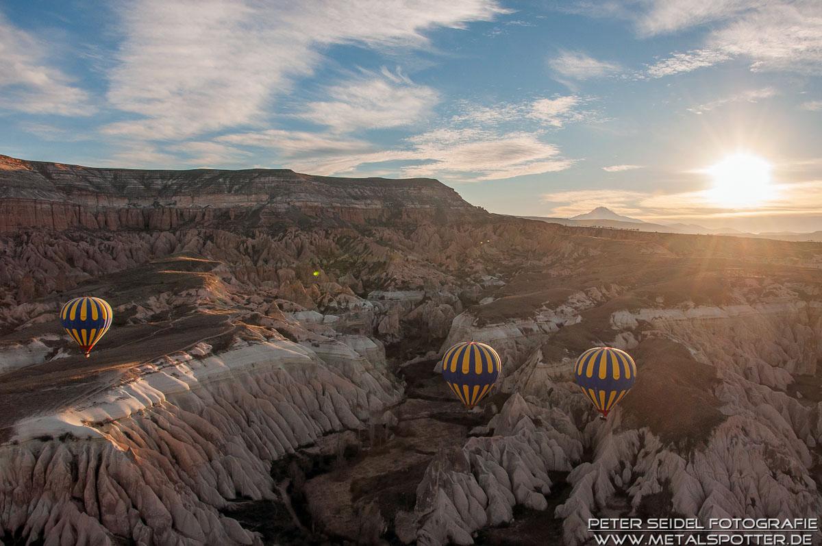 Balloons over Cappadocia II