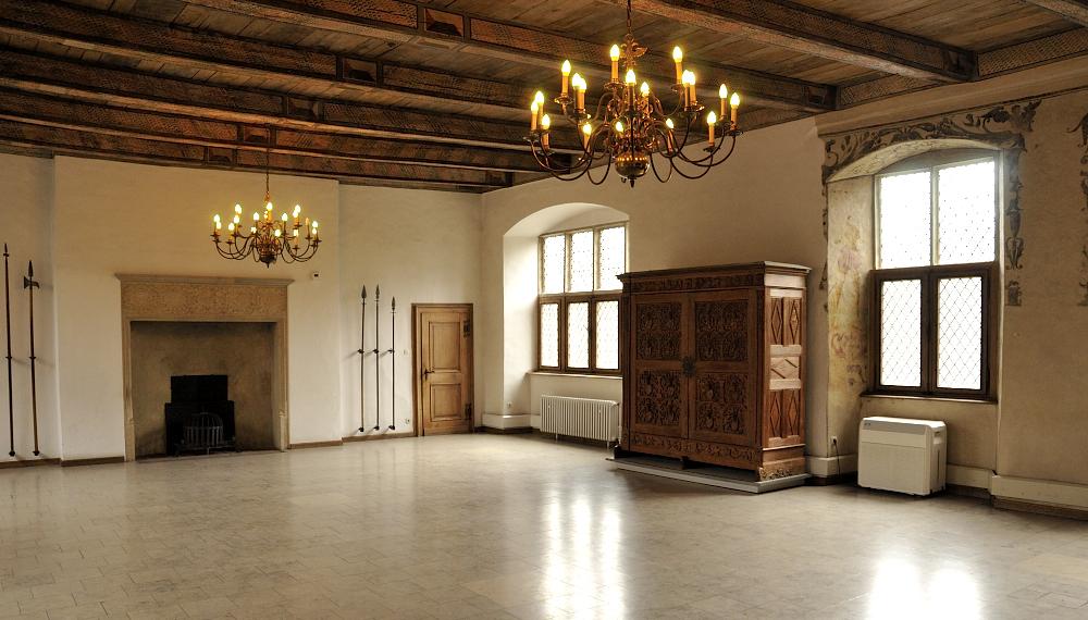 Ballsaal auf Burg Vischering