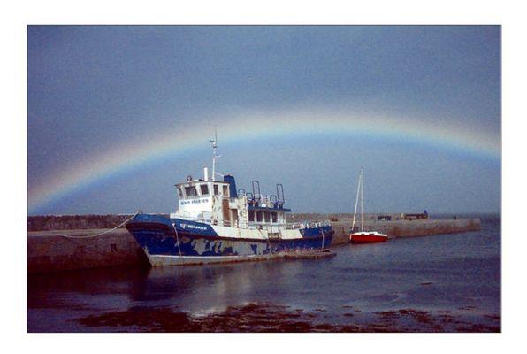 Ballyvaughan Harbour Ireland