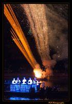 Ballzauber am Main - Eröffnungsfeier - Frauenfussball WM 2011 - Drums & Fire