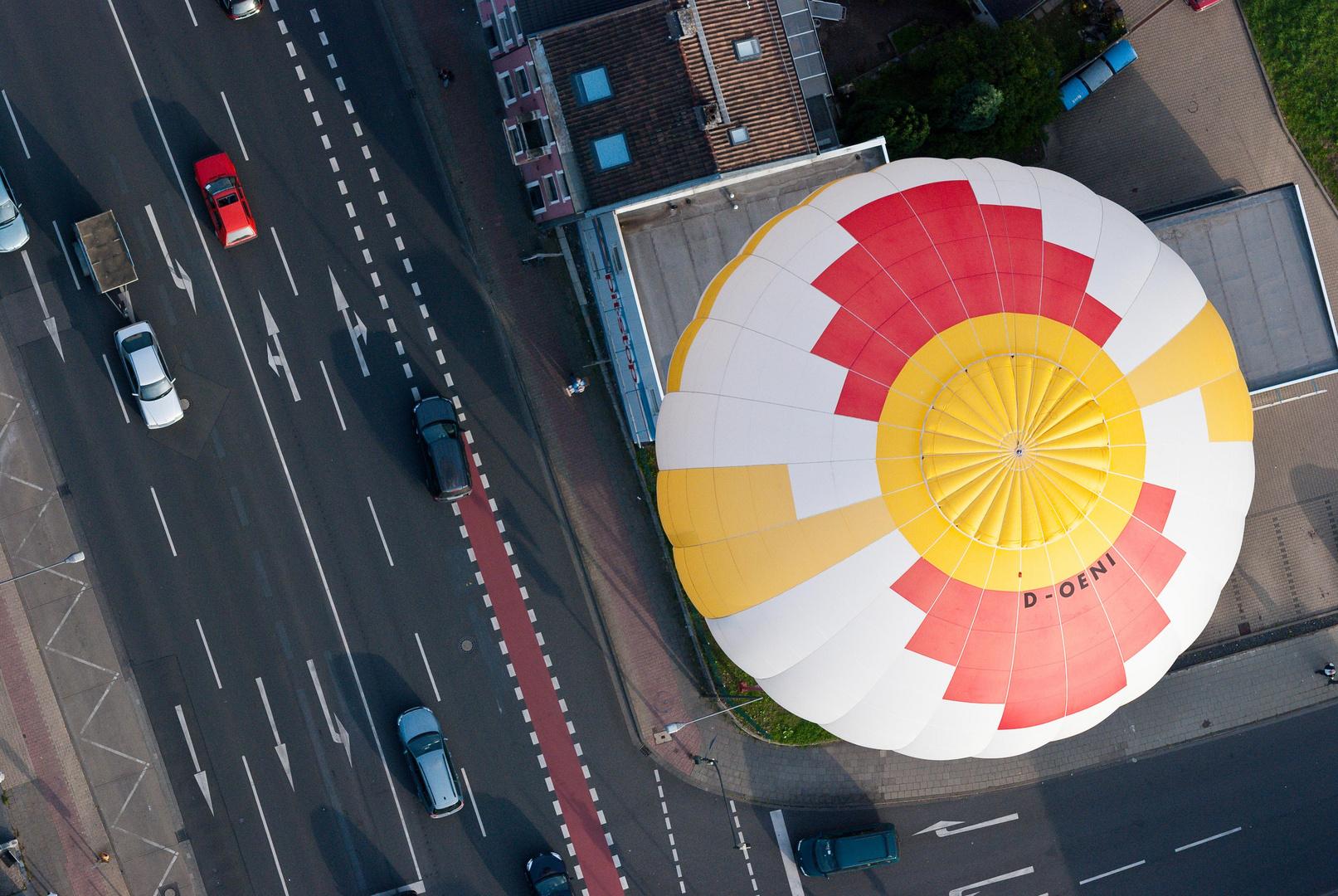 Balon über Aachen