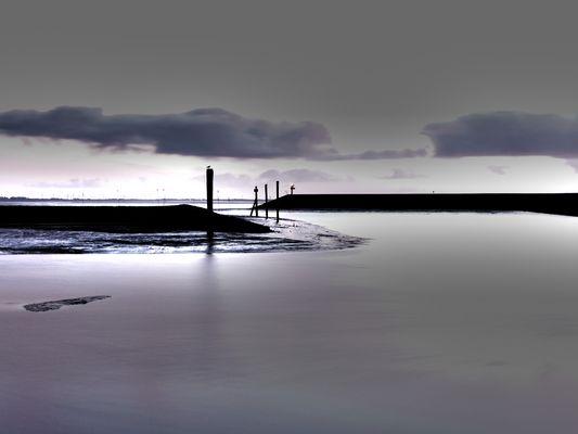 Baltrumer Hafen