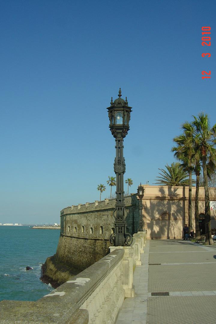 Baluarte de la Candelaria. Cádiz.
