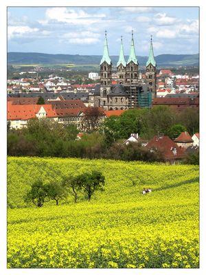 Bamberg am 1. Mai