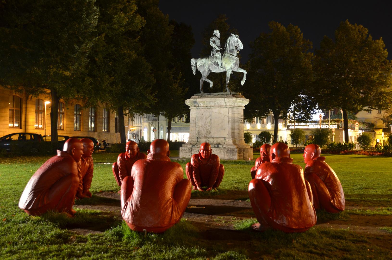 Bamberg - Ein (Reiters-)Mann sieht rot!