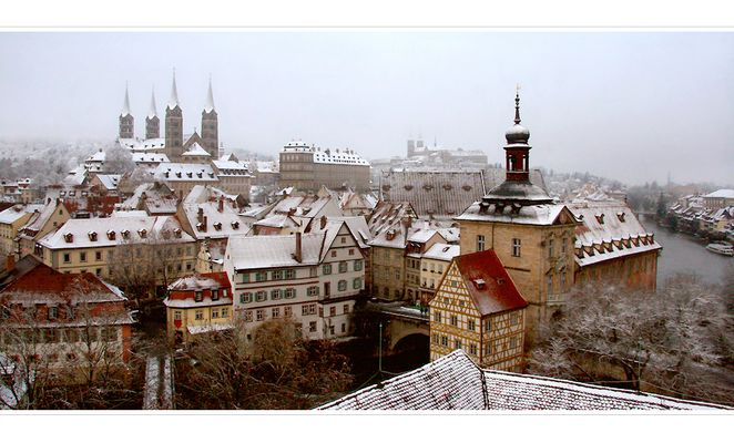 Bamberg im Winter - Teil 1