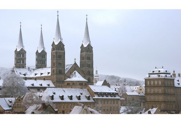Bamberg im Winter - Teil 2