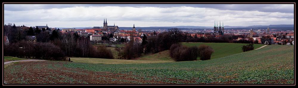 Bamberg skyline