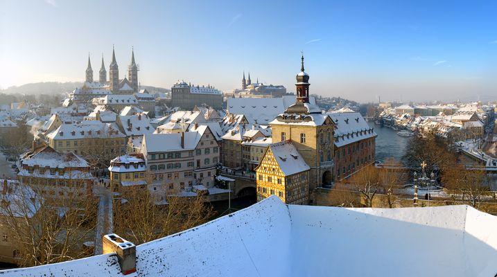 Bamberg under Snow