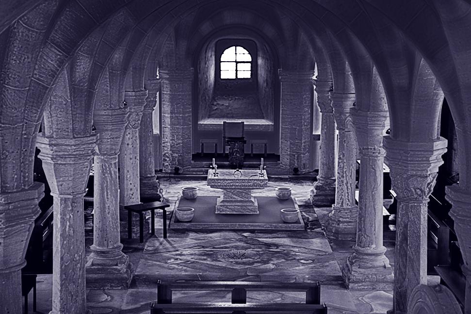Bamberger Ansichten (22): Krypta im Bamberger Dom