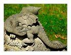 Bamberger Ansichten (23): Am Brunnen im Park von Schloß Seehof...