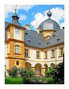 Bamberger Ansichten (24): Im Innenhof von Schloß Seehof