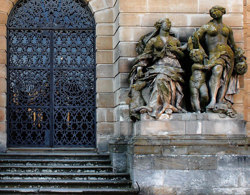Bamberger Ansichten (30): Schloß Weißenstein