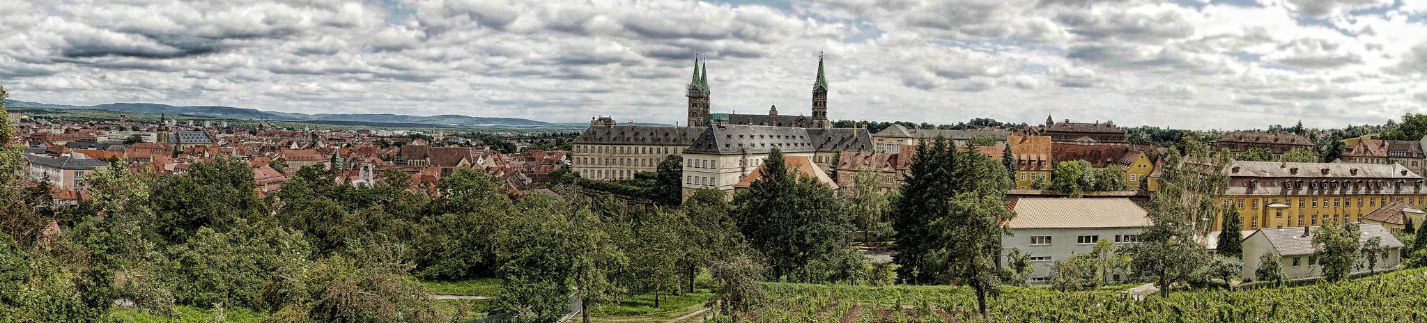 Bamberger Dom-Panorama