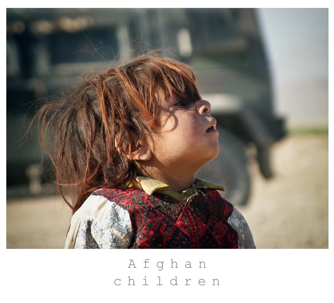 Bambina Afghana